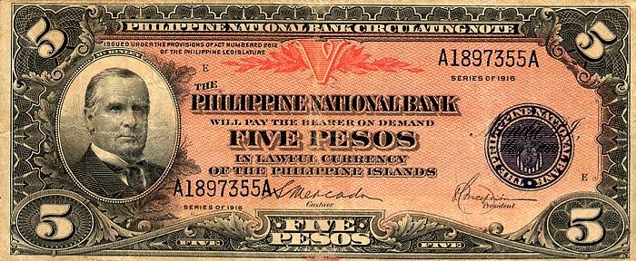 Kasamahan Blog Philippine Money 1912